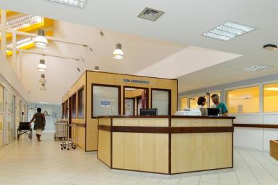 Accueil des urgences à Kourou en Guyane