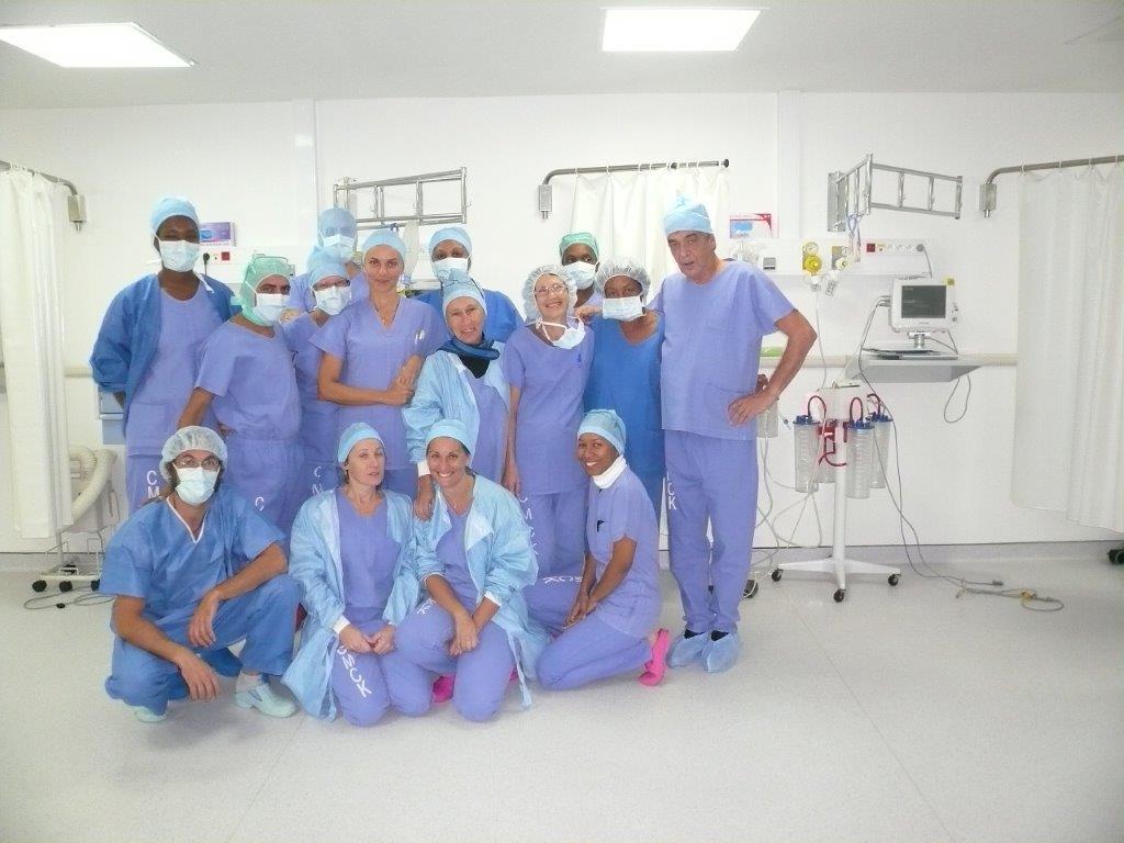 equipe medecin