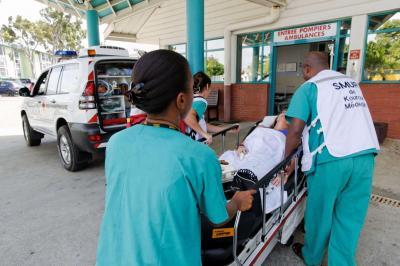 Urgences à Kourou en Guyane