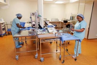 preparation salle bloc operatoire