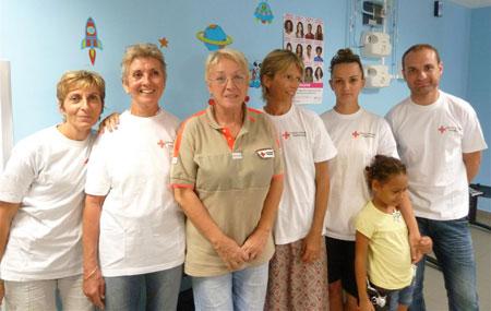 Accompagnement des enfants par des bénévoles (Kourou - Guyane)